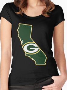 California - Gb Packers Team Women's Fitted Scoop T-Shirt