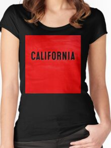 CALIFORNIA 003 Women's Fitted Scoop T-Shirt