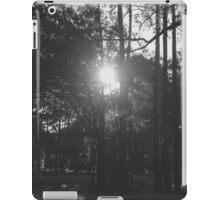 Black and White Woods iPad Case/Skin