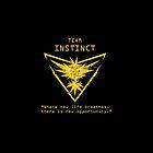 Pokemon GO Team Instinct Inspired by WishingInkwell