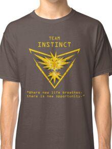 Pokemon GO Team Instinct Inspired Classic T-Shirt