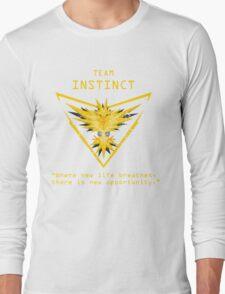 Pokemon GO Team Instinct Inspired Long Sleeve T-Shirt