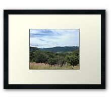 Mountains of Costa Rica Framed Print