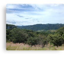 Mountains of Costa Rica Canvas Print