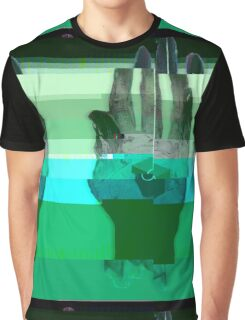 Porter Robinson Glitched Worlds Graphic T-Shirt