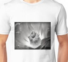 Desert Beauty ~ Black & White Unisex T-Shirt