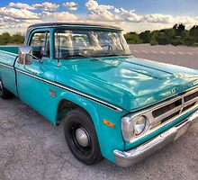 1970 Dodge Pickup Truck by Adam Bykowski