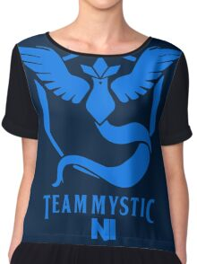 Pokemon Go Team Mystic NI Chiffon Top