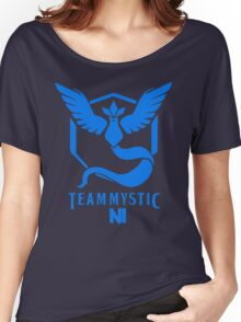 Pokemon Go Team Mystic NI Women's Relaxed Fit T-Shirt