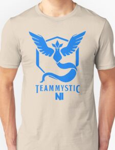 Pokemon Go Team Mystic NI Unisex T-Shirt