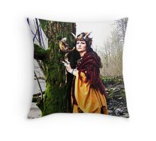 Amalthea Risen Throw Pillow