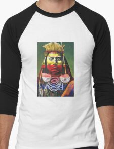 Indian Chief Men's Baseball ¾ T-Shirt