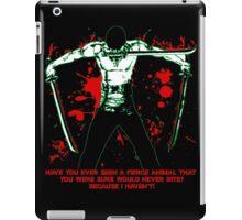 Roronoa Zoro The Fierce Animal (Black Version) iPad Case/Skin