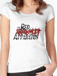 The Red Jumpsuit Apparatus Logo Women's Fitted Scoop T-Shirt