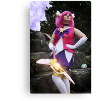 """In the name of Demacia, I will punish you!"" Canvas Print"