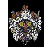 Power Of The Mask Crest Photographic Print