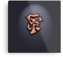 SF Graffiti Logo Metal Print