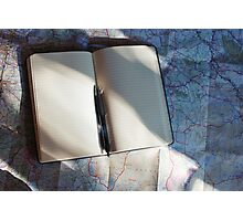 Travel Journal  Photographic Print