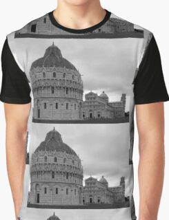 The Field of Miracles ~ Black & White Graphic T-Shirt