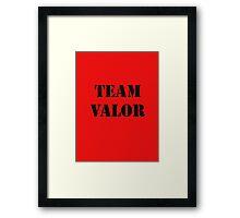 Pokemon Go -Team Valor - Red Framed Print