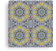 Abstract ornate tile. Canvas Print