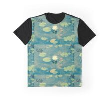Lily - Water Lily Graphic T-Shirt