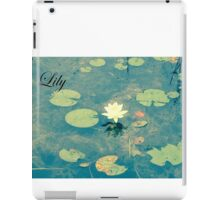 Lily - Water Lily iPad Case/Skin