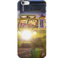 17th and Market - Muni and Bicyclist iPhone Case/Skin