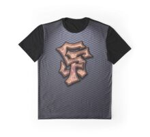 SF Graffiti Logo Graphic T-Shirt