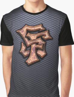 SF Graffiti Logo Graphic T-Shirt