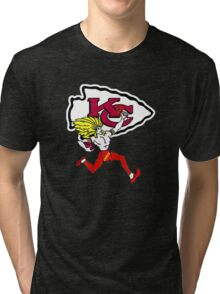 Kansas City Chiefs Tri-blend T-Shirt