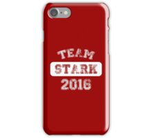 Team Stark 2016 iPhone Case/Skin
