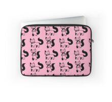 Poorly drawn cats- Pink Laptop Sleeve