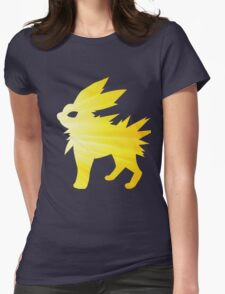 lightning bolt Womens Fitted T-Shirt