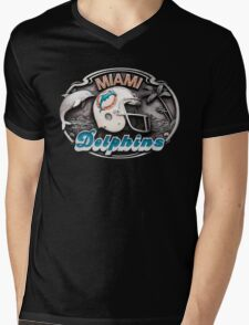 miami dolphins collection Mens V-Neck T-Shirt