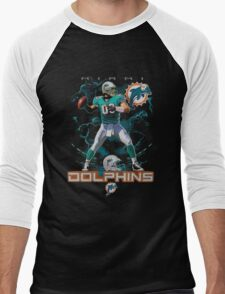Miami Dolphins Fans Men's Baseball ¾ T-Shirt