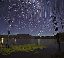 Scenic Rim Star Trails by McguiganVisuals