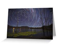 Scenic Rim Star Trails Greeting Card