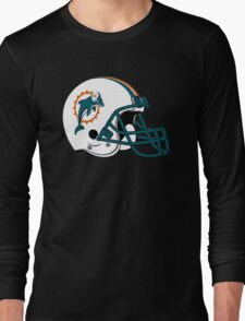 miami dolphins helmet Long Sleeve T-Shirt