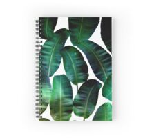 Cosmic Banana Leaves #redbubble #lifestyle Spiral Notebook