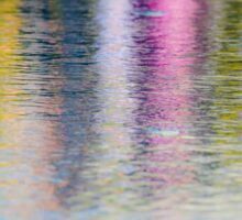 Colourful reflection in water  Sticker