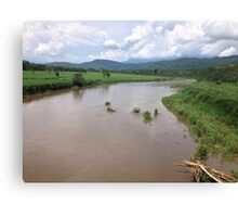 Tárcoles River, Costa Rica Canvas Print