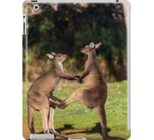 Fighting Kangaroos iPad Case/Skin