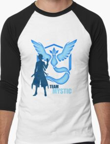 Team Mystic | Pokemon GO Men's Baseball ¾ T-Shirt