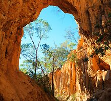 Golden Gulley Arch by Steve Randall