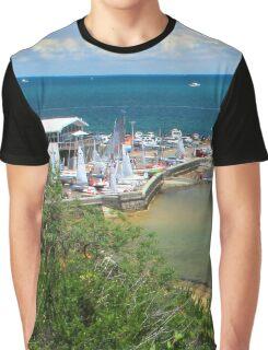 Half Moon Bay  Black Rock  Victoria  Australia Graphic T-Shirt