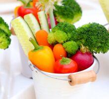 fresh Vegetable snacks Sticker