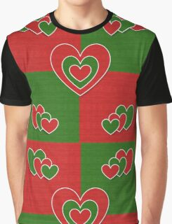 Romantic hearts Graphic T-Shirt