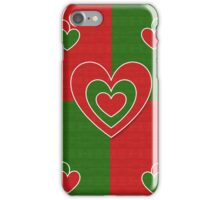 Romantic hearts iPhone Case/Skin