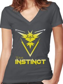 Team Instinct V2 Women's Fitted V-Neck T-Shirt